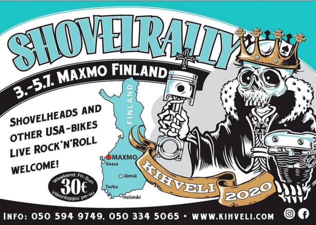 shovelrally finland 2020